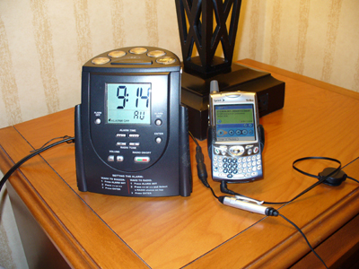 Hilton MP3 Player works with the Treo 650